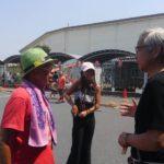東京ボンバーズの小泉博氏主宰によるローラースケート教室、スケボー教室が開催されました。