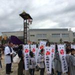 元郷氷川神社例祭お祭りに来ています。