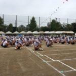 上青木中・南中の体育祭にいきました。