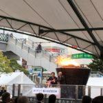 ありがとう聖火台記念式典キュポラ広場にて開催。